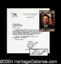 Autographs, Colin Powell Typed Letter Signed With Desert Storm Content