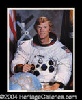 Autographs, Rusty Schweickart Signed Photo Lot