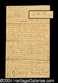 Autographs, Roger B. Taney Signed Legal Document