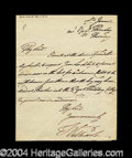 Autographs, William IV Rare Signed Handwritten Letter