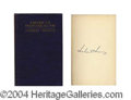 Autographs, Herbert Hoover Rare Signed Book c.1923