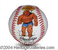 Autographs, Dick Ayers The Thing Signed Baseball