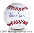Autographs, Mac Davis In-Person Signed Baseball