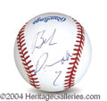 Autographs, Robert Duvall In-Person Signed Baseball