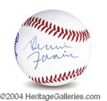 Autographs, Dennis Farina In-Person Signed Baseball