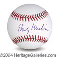 Autographs, Rudy Giuliani Rare Signed Baseball