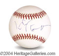 Autographs, Jeff Goldblum In-Person Signed Baseball
