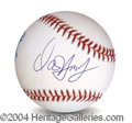 Autographs, David Hasselhoff In-Person Signed Baseball