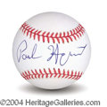 Autographs, Paul Hogan In-Person Signed Baseball