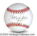 Autographs, George Jones Signed Baseball
