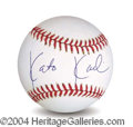 Autographs, Kato Kaelin In-Person Signed Baseball