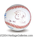 Autographs, Bil Keane Family Circus Signed Baseball