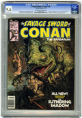 Magazines:Adventure, Savage Sword of Conan #20 (Marvel, 1977) CGC NM+ 9.6 Off-white to white pages....