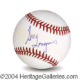 Autographs, Greg Louganis In-Person Signed Baseball