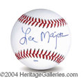 Autographs, Lee Majors In-Person Signed Baseball