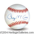 Autographs, Roger McGuinn The Byrds Signed Baseball