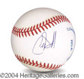 Autographs, Chris O' Donnell In-Person Signed Baseball
