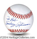 Autographs, Smokey Robinson Signed Baseball