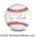 Autographs, Tom Selleck In-Person Signed Baseball