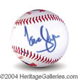 Autographs, Jane Seymour In-Person Signed Baseball