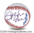 Autographs, Slash (G n' R) Unique Signed Baseball