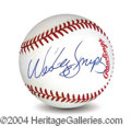 Autographs, Wesley Snipes In-Person Signed Baseball