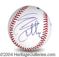 Autographs, Sylvester Stallone Signed Baseball
