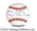 Autographs, Gale Storm In-Person Signed Baseball