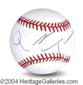 Autographs, Quentin Tarantino In-Person Signed Baseball