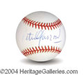 Autographs, Peter Yarrow Signed Baseball