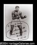 Autographs, Muhammad Ali Signed 8 x 10 Photograph