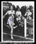 Autographs, Roger Bannister 4 Minute Mile Signed Photo