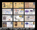 Autographs, Massive Signed Baseball FDC's Lot of 33!