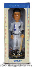 Autographs, Yogi Berra Unique Signed Bobble Head Doll