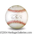 Autographs, Barry Bonds Beautiful Signed Baseball PSA/DNA