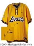 Autographs, Kobe Bryant Signed Pro Model Warm-Up Jersey PSA/DNA