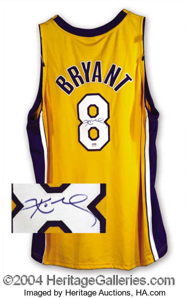 save off 4eb4a 2baaa Kobe Bryant Signed Laker Jersey PSA/DNA Autographs | Lot ...