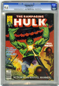 Magazines:Superhero, The Rampaging Hulk #1 (Marvel, 1977) CGC NM+ 9.6 Off-white to whitepages....