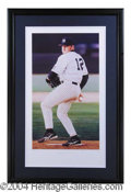 Autographs, Roger Clemens Signed Yankees Lithograph