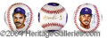 Autographs, L.A. Dodger Greats Signed Art Baseball