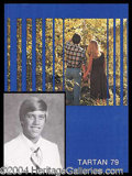Autographs, John Elway 1979 High School Yearbook