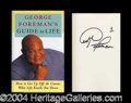 Autographs, George Foreman In-Person Signed Book