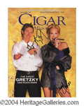 Autographs, Wayne Gretzky In-Person Signed Cigar Magazine