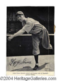 Autographs, Lefty Grove Vintage Signed Photograph