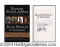 Autographs, Kareem Abdul-Jabbar Signed First Edition Book