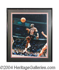 Autographs, Michael Jordan Signed 16 x 20 Photo UDA