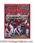 Autographs, John Lackey Signed Sports Illustrated