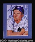 Autographs, Mickey Mantle Signed Limited Lithograph