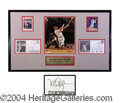 Autographs, Mark McGwire Signed Framed Display
