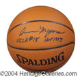 Autographs, Ann Meyers Drysdale Signed Basketball